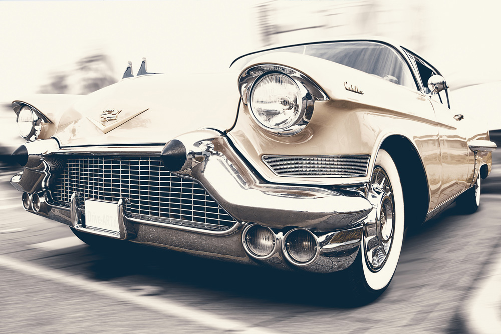 It's Not Me - It's You - Gold Vintage Cadillac